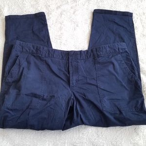 GUC Gap size 20 navy blue crop pants skinny cotton